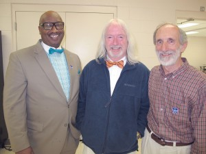 Larry Griffin, Eddie Baughman and Malcolm Gordge came out on top in Tuesday's municipal elections in Blythewood. (Barbara Ball)