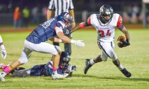 Rudy Mitchell and the Redhawks travel to Conway Friday to open the Class 4A/D2 playoffs. (Photo/Ross Burton)