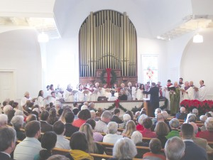 Under the direction of the Rev. Lane Keister, minister of Lebanon Presbyterian Church, a community choir representing many area churches will perform Handel's Messiah at 3 p.m., Sunday, Dec. 6, in the historic Bethel ARP church in downtown Winnsboro.