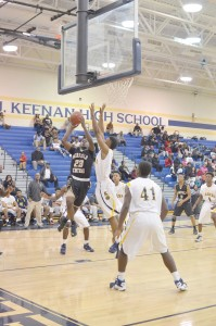 Akyel Richmond fights to the hoop for F.C. (Photo/DeAnna Robinson)