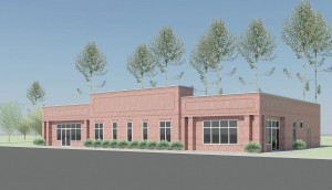 The proposed medical office building, slated for Blythewood Road.