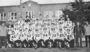 The 1958 Mt. Zion Institute Wildcats.