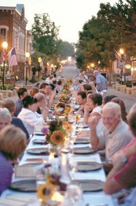 Come to downtown Winnsboro June 16 for dinner in the open, featuring food straight from the farm to your table.