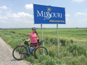 With her riding partner seriously injured, Kristy Massey makes an abridged ride across the U.S.