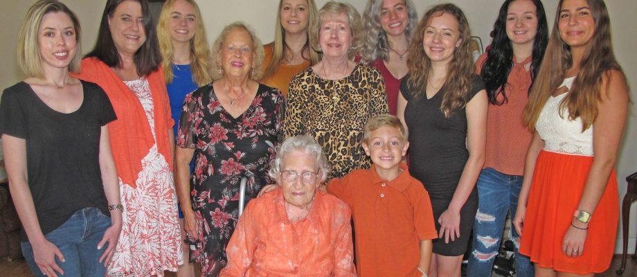 Blythewood's oldest hometown girl