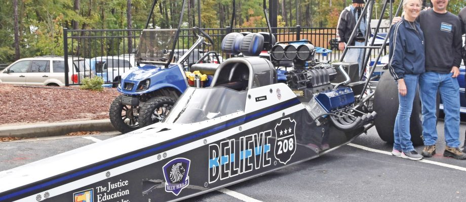 Dragster honors fallen law enforcement officers