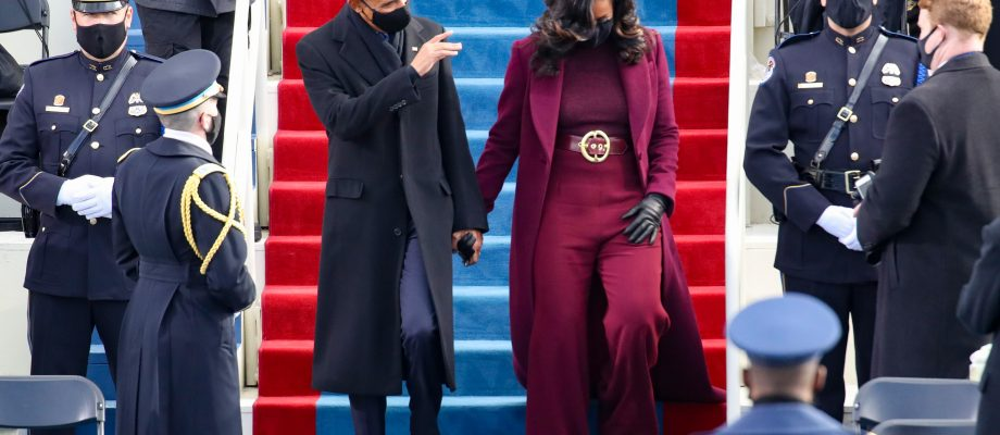 Ridgeway's Hudson outfits Obama, Harris on inauguration day